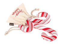 Christmas Candy Canes Dog Toy By P.L.A.Y