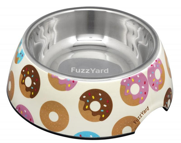 Go Nuts For Donuts Easy Feeder Pet Bowl By FuzzYard