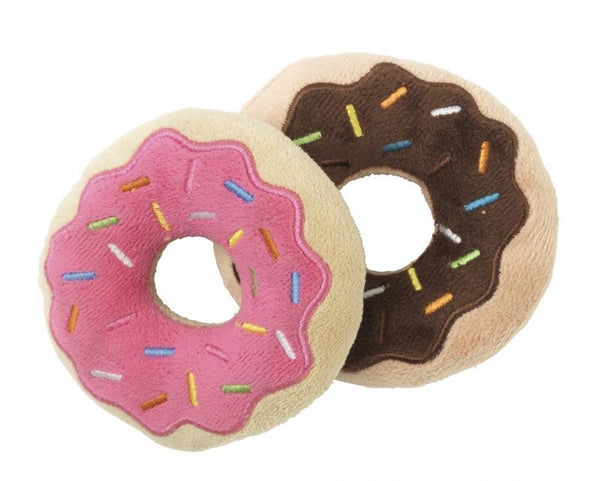Donuts Dog Toy By FuzzYard