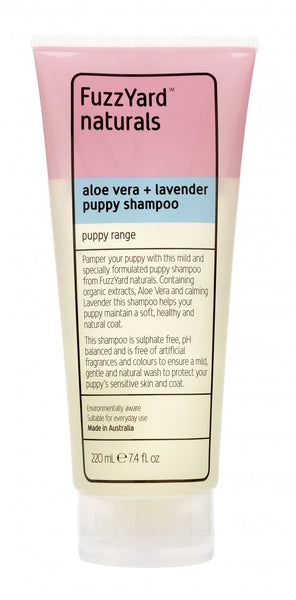 Puppy Aloe Vera Dog Shampoo By FuzzYard