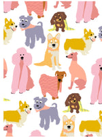 Loving Dogs Wrapping Paper By Noi Publishing