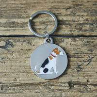 Jack Russell Dog Tag By Sweet William