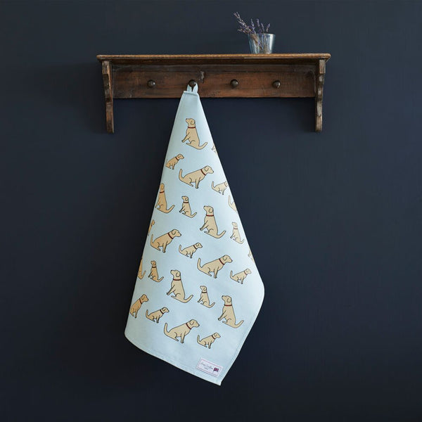 Golden Retriever Tea Towel By Sweet William