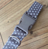 Mint Star Pooch Grey Collar By Love From Betty X Urban Tails