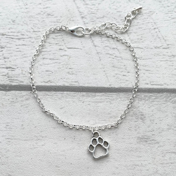 Paw Print Bracelet By My New Fav