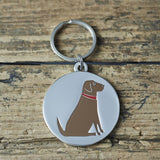 Labrador Dog Tag By Sweet William