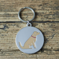 Golden Retriever Dog Tag By Sweet William