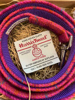 Harris Tweed Pink Dog Lead By Urban Tails