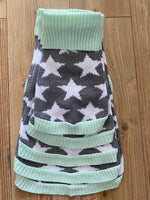 Mint Star Pooch Knitted Sweater By Love From Betty