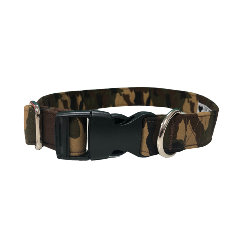 Camo Animal Print Dog Collar By Urban Tails
