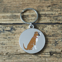 Boxer Dog Tag By Sweet William