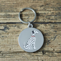 Dalmatian Dog Tag By Sweet William