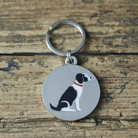 Springer Spaniel Dog Tag By Sweet William