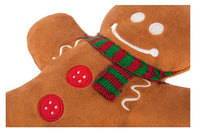 Christmas Gingerbread Man Dog Toy By P.L.A.Y