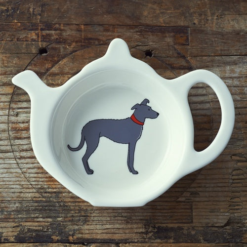 Lurcher Tea Bag Dish By Sweet William