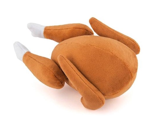 Christmas Roast Turkey Dog Toy By P.L.A.Y