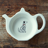 Dalmatian Tea Bag Dish By Sweet William