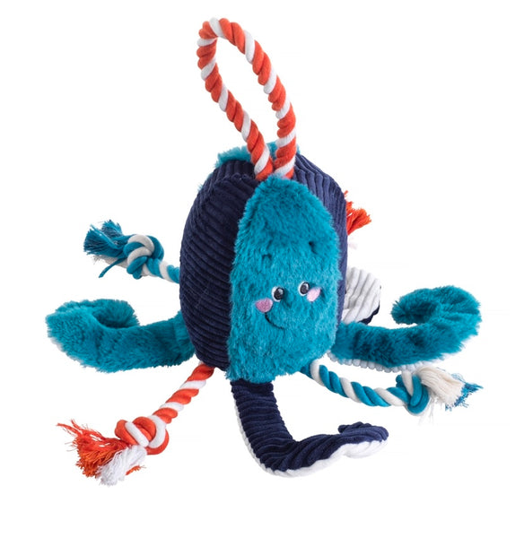 Under The Sea Octopus Dog Toy By House Of Paws