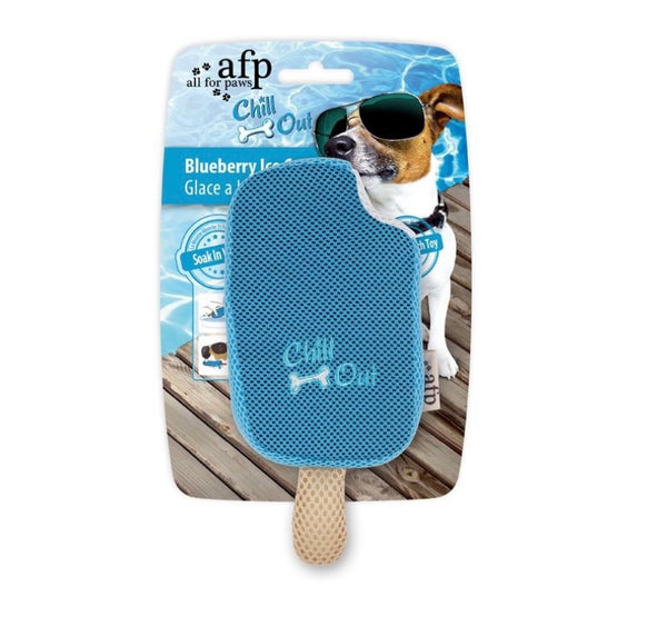 Chill Out Blueberry Ice Cream Toy By All For Pets