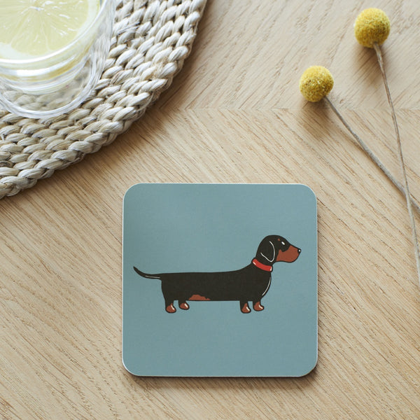 Dachshund Coaster Dog By Sweet William