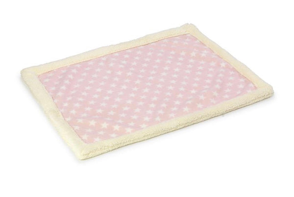 Pink Star Fleece Blanket By House Of Paws
