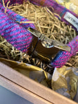 Harris Tweed Purple Dog Collar By Urban Tails