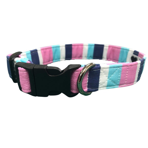 Promenade Stripe Dog Collar By Urban Tails