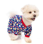 Eggs & Bacon Breakfast Dog Pyjamas By FuzzYard