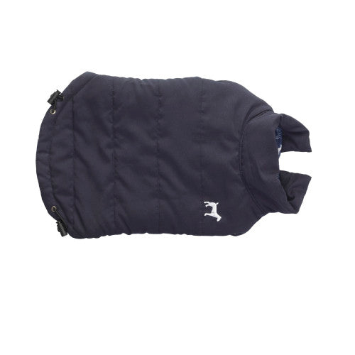 Dog Fleece Lined Navy Gilet By House Of Paws