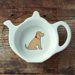 Cocker Spainel Tea Bag Dish By Sweet William