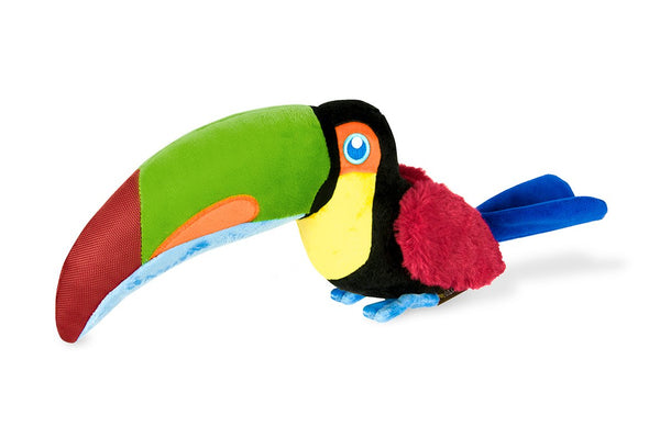 Toucan Dog Toy By P.L.A.Y