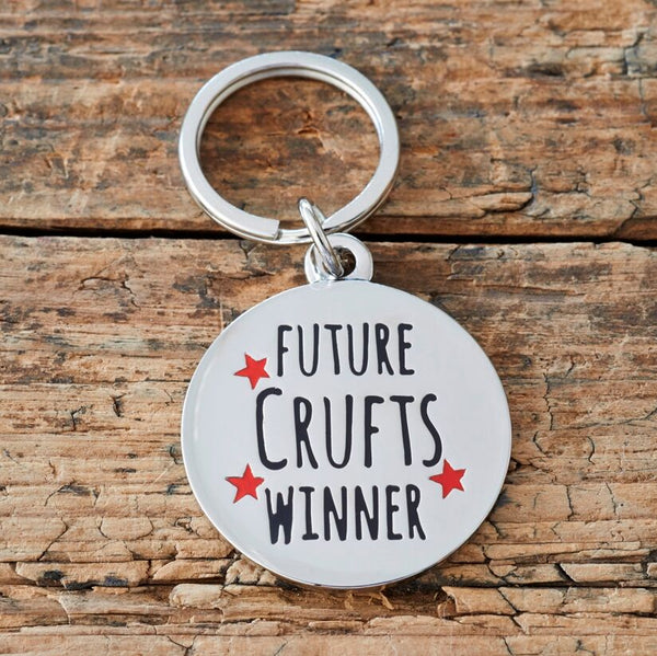 Future Crufts Winner Dog Tag By Sweet William