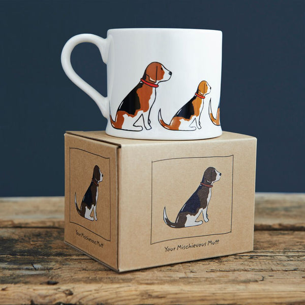 Beagle Mug By Sweet William