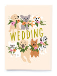 Dogs Wedding Greeting Card By Noi Publishing