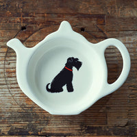 Schnauzer Tea Dish By Sweet William
