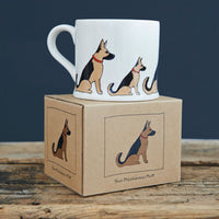German Shepard Mug By Sweet William