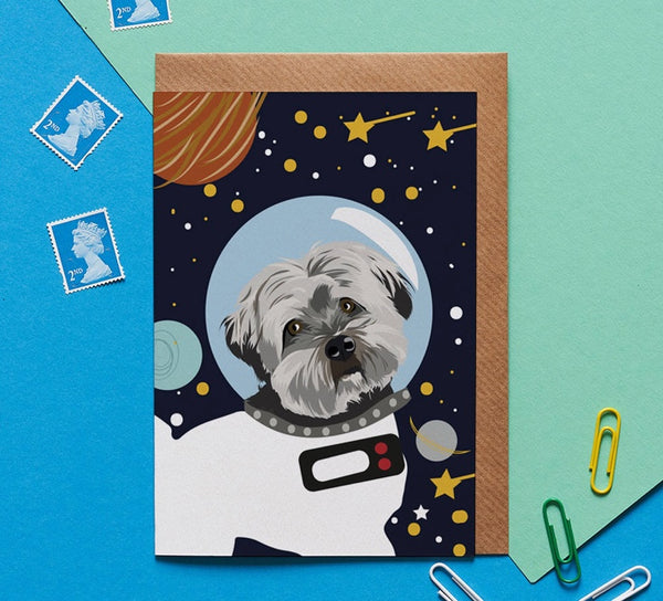 Havanese Dog Greeting Card By Lorna Syson