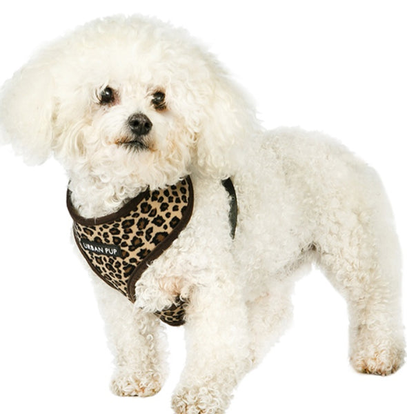 Animal Print Dog Harness By Urban Pup