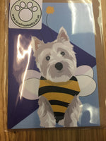 Westie Dog Greeting Card By Lorna Syson