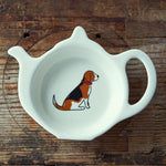 Beagle Tea Bag Dish By Sweet William