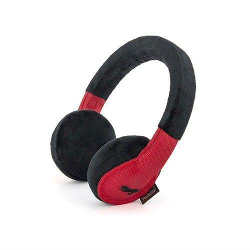 Headphones Plush Dog Toy By P.L.A.Y