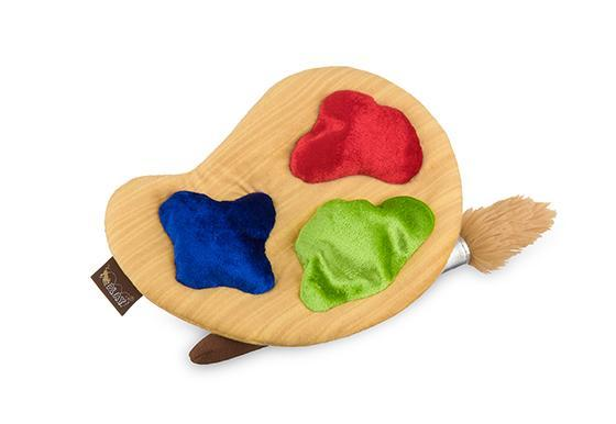 Puppy's Paint Palette Dog Toy by P.L.A.Y
