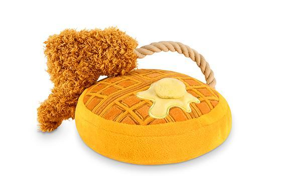 Brunch Chicken & Woofles Dog Toy by P.L.A.Y