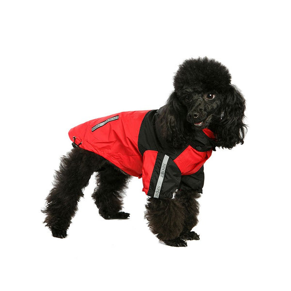 Windbreaker Red Dog Jacket By Urban Pup