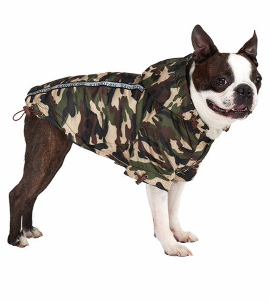 Rainstorm Camouflage Print Dog Jacket By Urban Pup