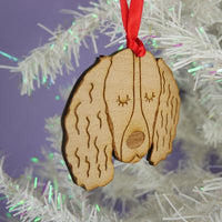 Springer Spaniel Dog Wooden Decoration By Hoobynoo