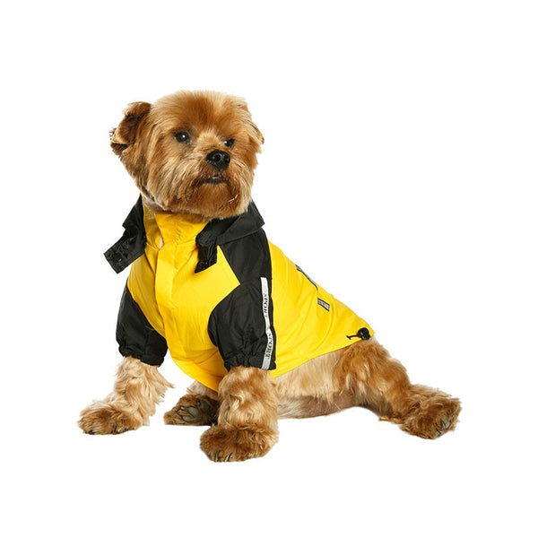 Windbreaker Yellow Dog Jacket By Urban Pup