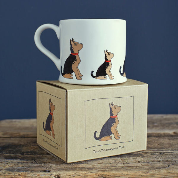 Yorkie Mug By Sweet William