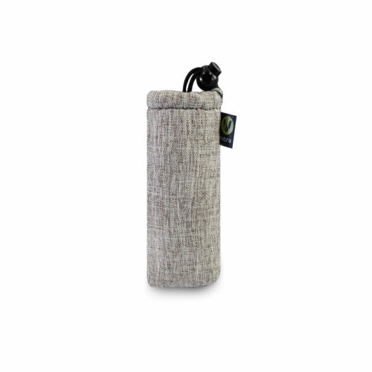 "Vatra Padded 8"" Pipe Pouch - Woven Gray"