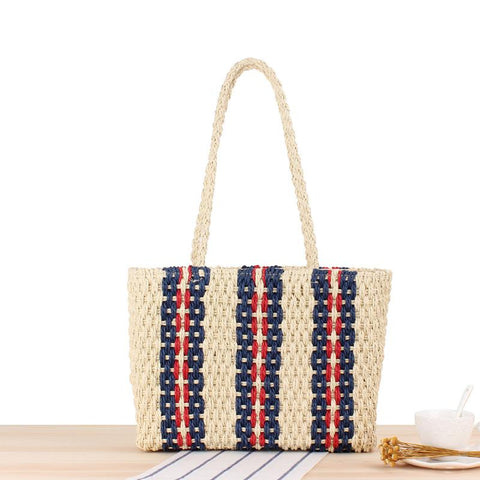 Helpful Women Fashion Woven Bag Female Shoulder Oblique Hollow Holiday Beach Bag Small Fresh Straw Bag Discounts Sale Coin Purses & Holders